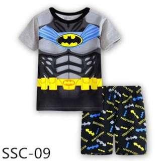 Batman t-shirt with shorts set