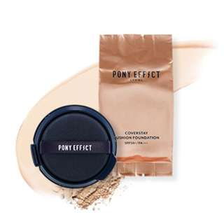 Pony Effect Coverstay Cushion Foundation Refill in No. 23 Buff