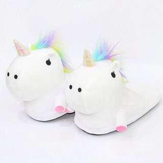Rainbow Unicorn Bedroom Slippers