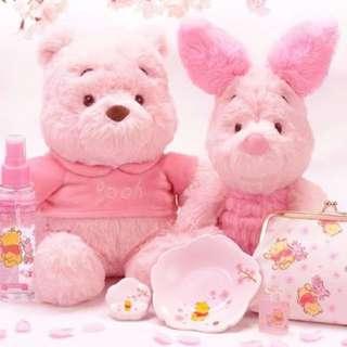 [13/3-19/3 日本連線]Disney 粉紅色Winnie The Pooh代購