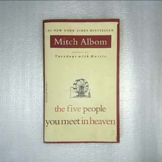 Mitch Albom, The Five People You Meet in Heaven