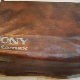 Vintage Betamax: Sony SL-860
