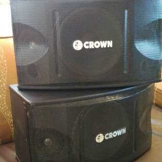 CROWN BF-105 3-way speaker