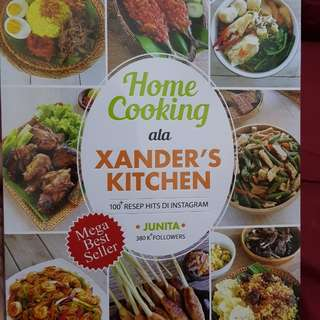 Home cooking ala xander's kitchen