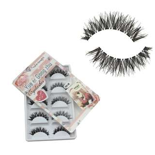 5 Pair/Lot Hand Made Crisscross False Eyelashes Lashes Voluminous