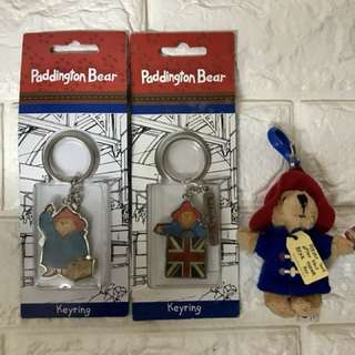 全新Paddington Bear Keyring