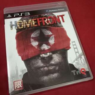 PS3 game HOMEFRONT