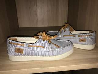 Lacoste woman's boat shoe