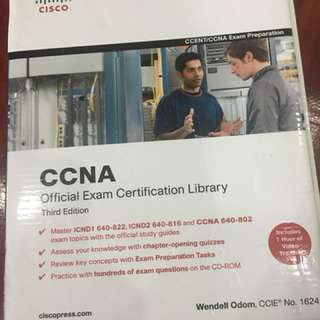 Cisco CCNA official exam certification library