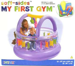 Intex inflatable soft side baby gym
