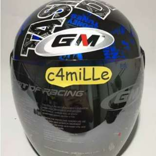 Helmet GM Evo tazmanian black blue