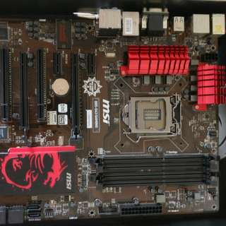 MSI B85-G43 Gaming Motherboard (LGA 1150)