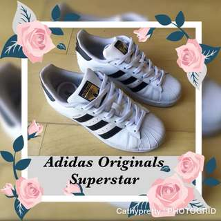 "Adidas ""Originals"" Superstar White/Black Sneakers"