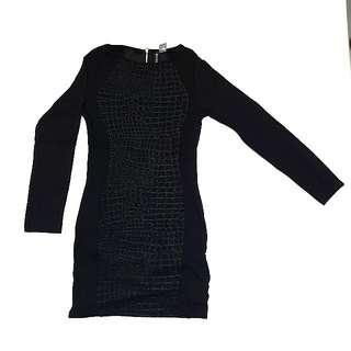 H&M Croco Body Dress