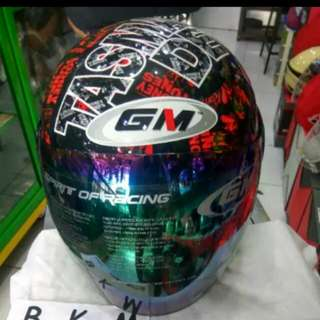 Helmet GM Evo tazmania series red black