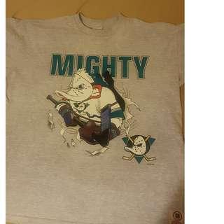 VIntage Might Ducks Shirt XXL
