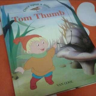Children's hardcover story book  Tom thumb
