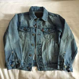 Levi denim jacket- kids