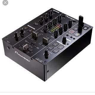 PIONEER DJM-350 2-CHANNEL DJ EFFECTS MIXER