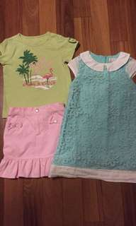 Gymboree Outfit + Dress Size 5