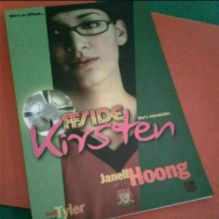 Local Novel Author Writer book singapore  Offside KiRSTEN  JANELL hoong  A teenaged girl who loves soccer finds out about love and life