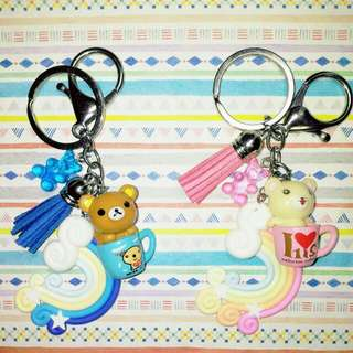 Customised / Handmade Rilakkuma Keychain / Bag Charm