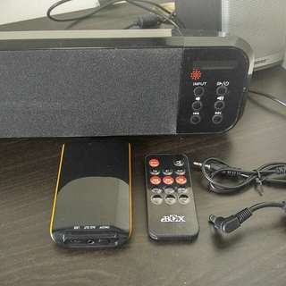 Bluetooth sound bar with remote, fm radio藍芽喇叭