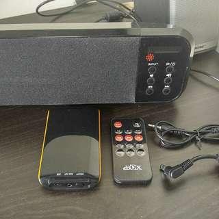 Bluetooth sound bar with remote, fm radio藍芽喇叭