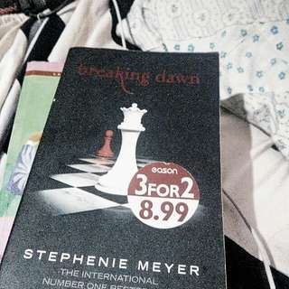 Breaking Dawn Book One by Stephenie Meyer