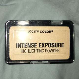 City color intense exposure highlighter