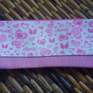 Apink Japan pencil case