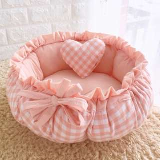 BN Pet Bed - Pretty Checkered Collection Pets Bed for Cats/ Dogs