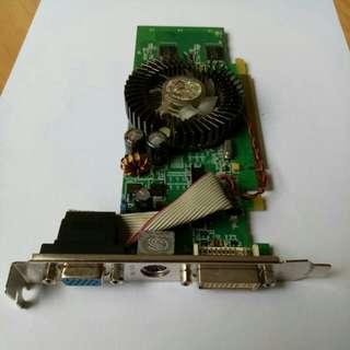 256mb~64bit~DDR2 display card