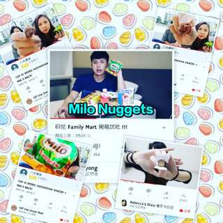 Milo nuggets engery club