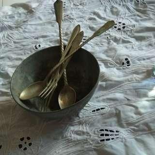 mangkuk perak jaman dulu