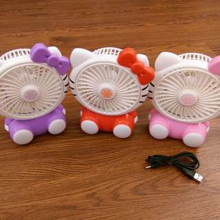 USB Fan Mini Cartoon Fan