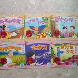 *Reserved* Tien Hsia Recommended P1-P2 Chinese Readers