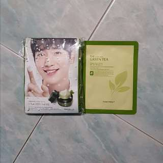 Face Mask, Green Tea Extract