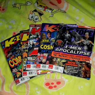 K-ZONE MAGAZINE (SUPER HEROES)