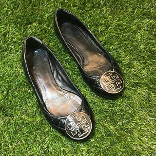 Preloved Tory Burch quilted flats