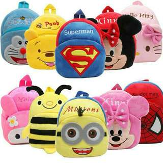 🔥ready stock 🔥bag kids cartoon(3 - 6years)