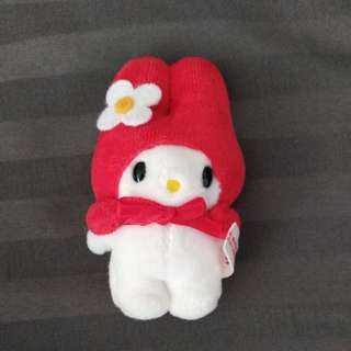 My Melody vintage mini plush