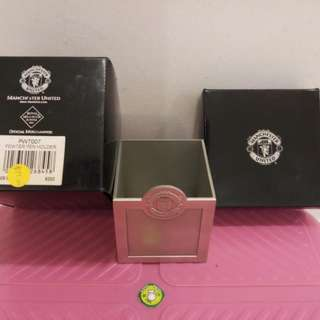 Manchester United Pewter Pen Holder