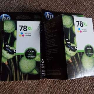 Hp tri color ink