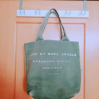 Marc By Marc Jacobs布質硬身袋