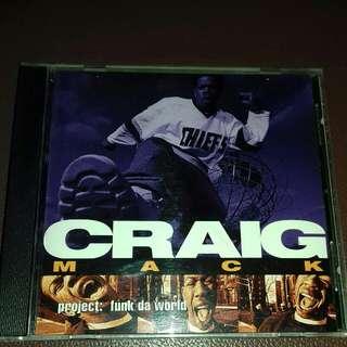 Craig Mack funk Da world rare 1994 original USA pressing cd used like new Rap, Puff daddy, biggie, Bad boy