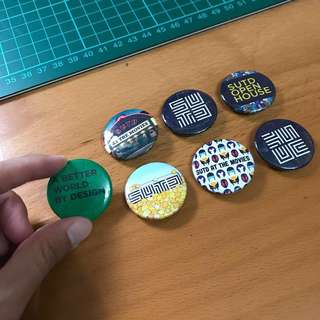 SUTD school exclusive Badges