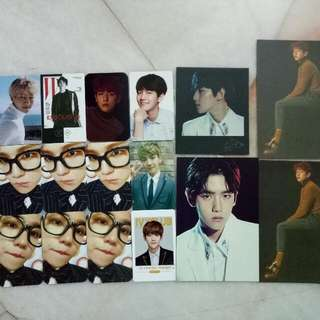EXO Unofficial Pc  Each RM2 ( power and kokobop RM3 each)  Buy RM30 above FREE postage!!