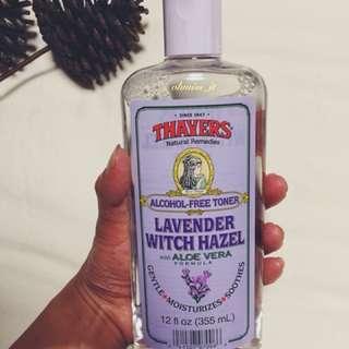 Thayers, Lavender Witch Hazel with Aloe Vera Formula, [Alcohol-Free Toner] 12 fl oz [355 ml]