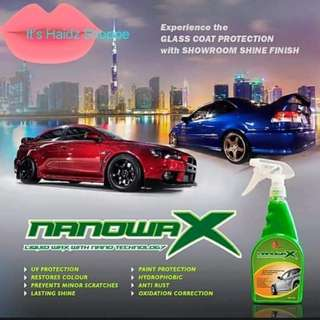 "Best wax for your Car ""Nanowax"""